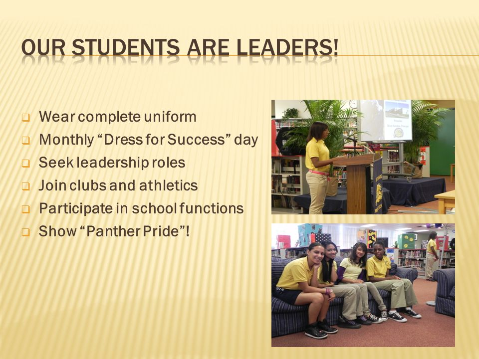 Our Students are Leaders!