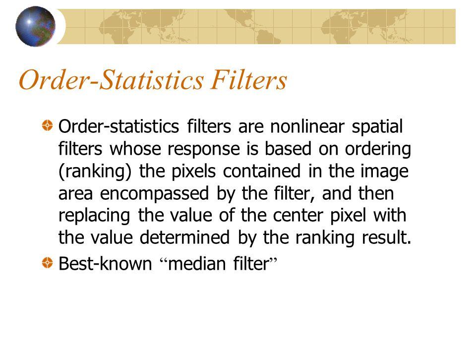 Order-Statistics Filters
