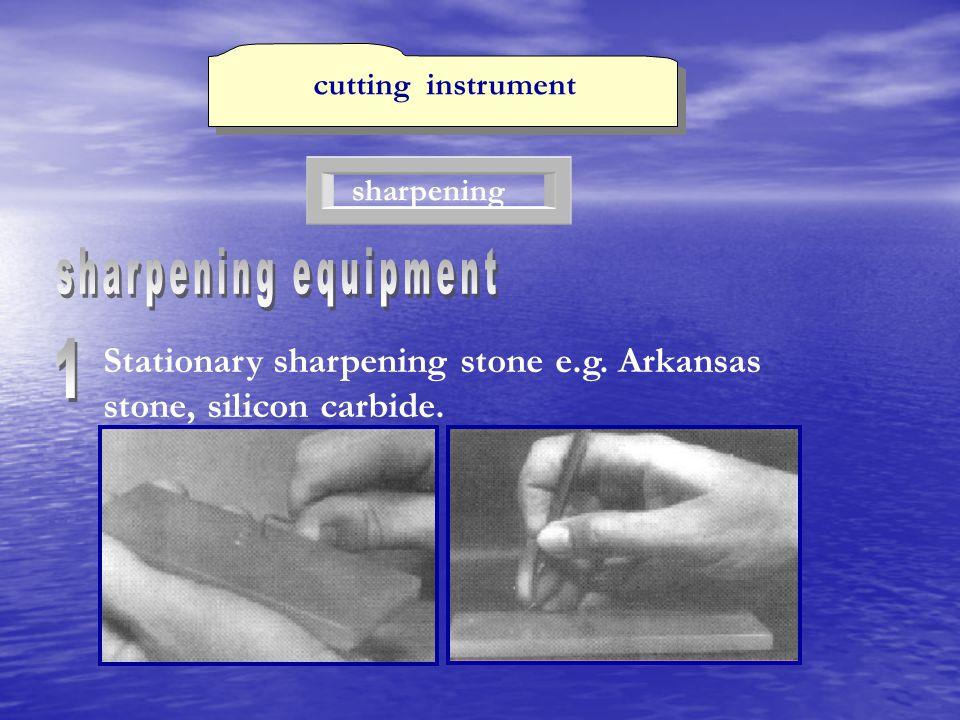 cutting instrument sharpening. sharpening equipment.