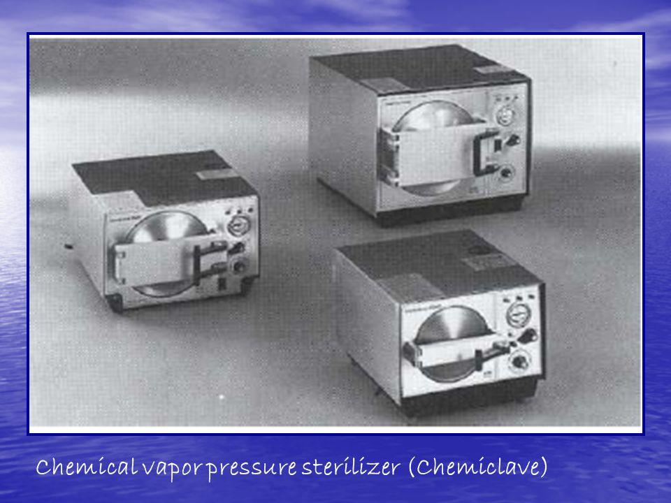 Chemical vapor pressure sterilizer (Chemiclave)