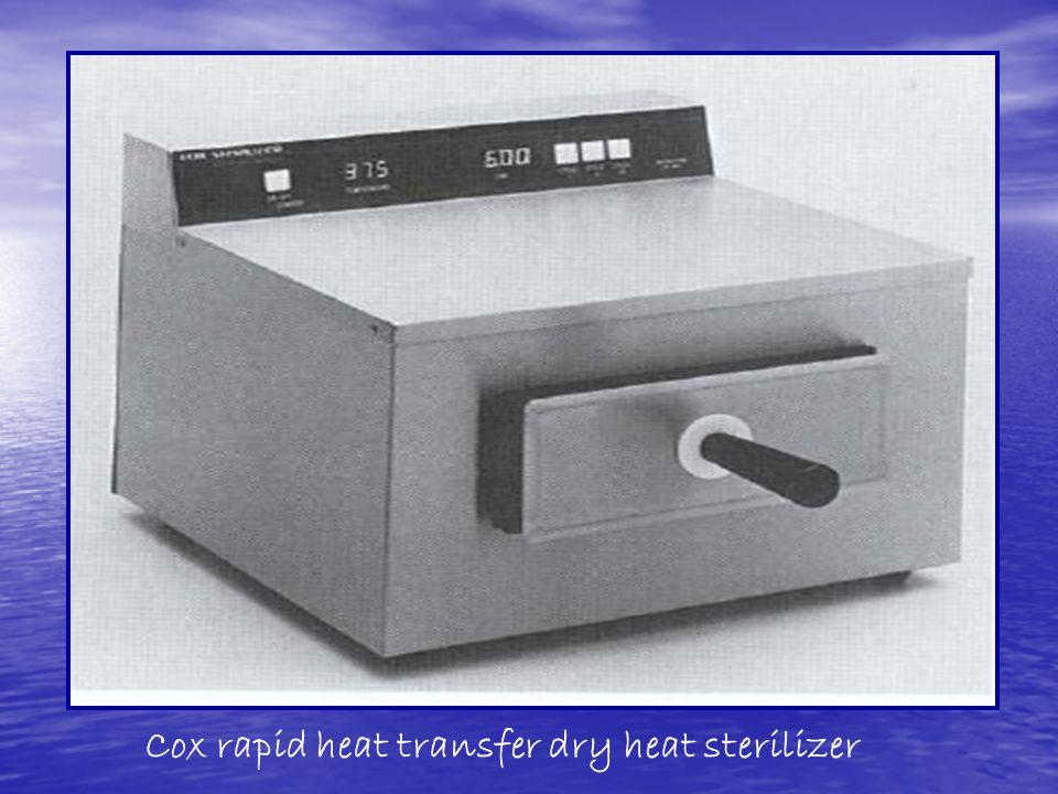 Cox rapid heat transfer dry heat sterilizer