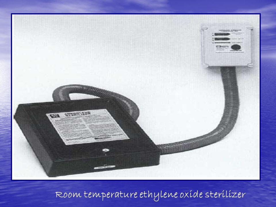 Room temperature ethylene oxide sterilizer