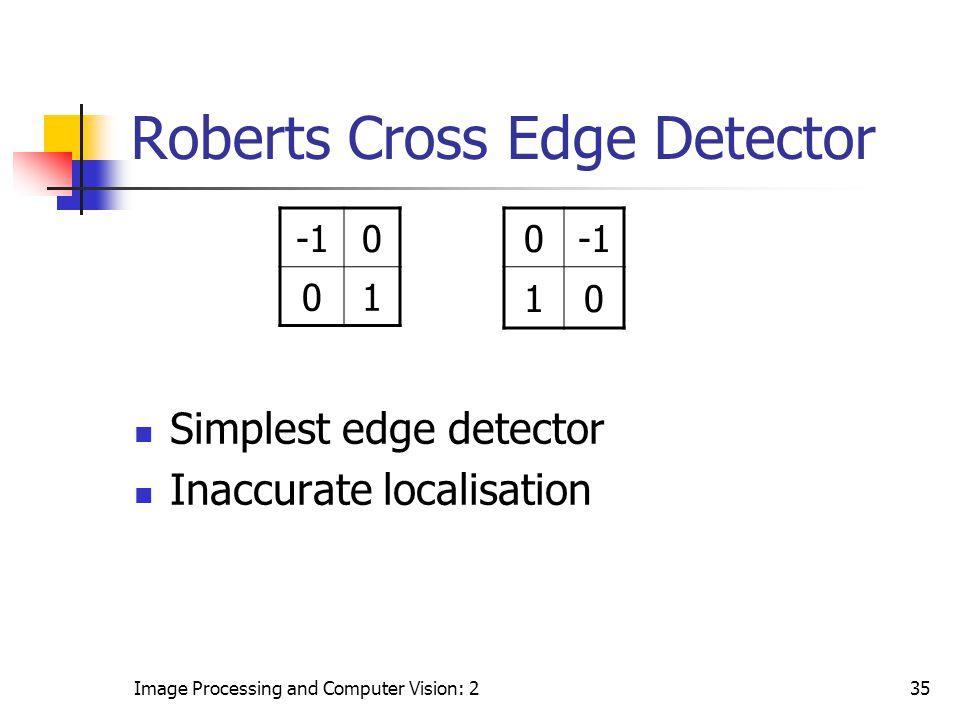 Roberts Cross Edge Detector