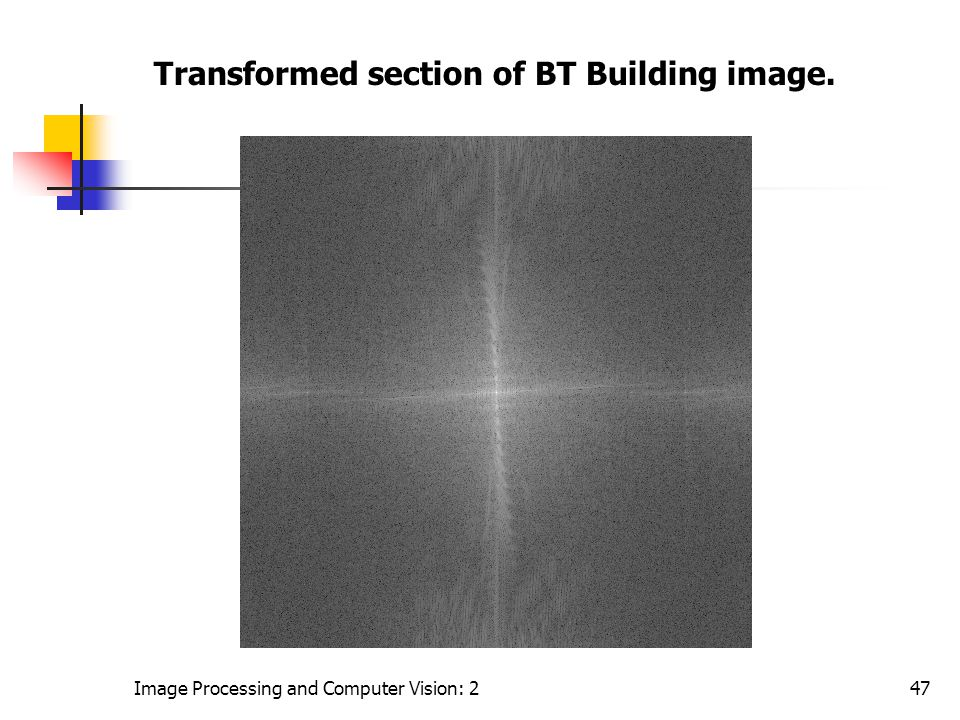 Transformed section of BT Building image.