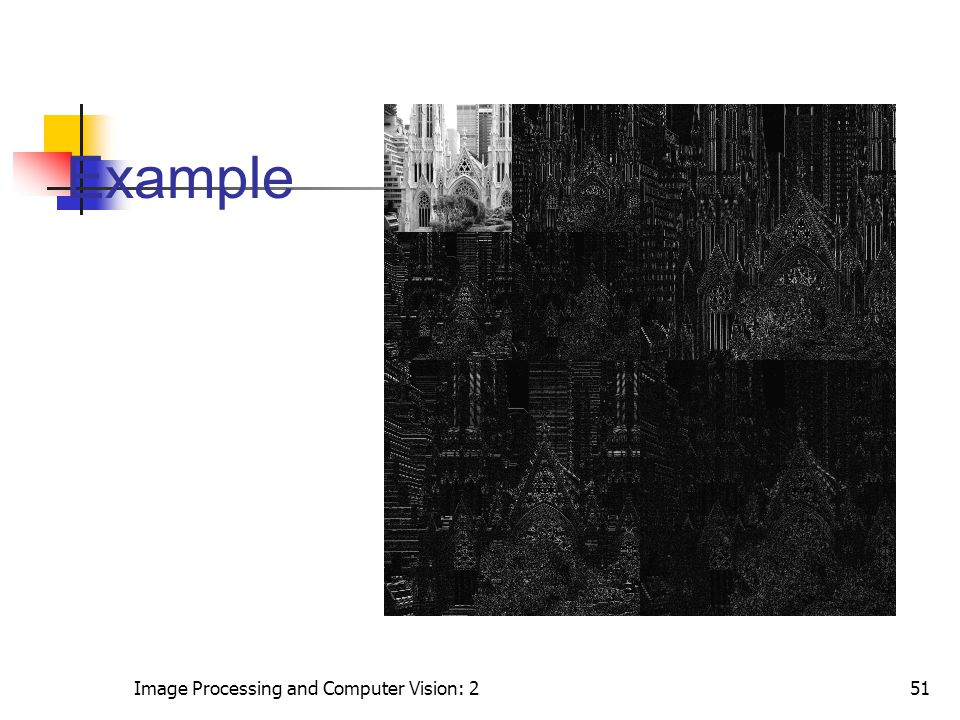 Example Image Processing and Computer Vision: 2