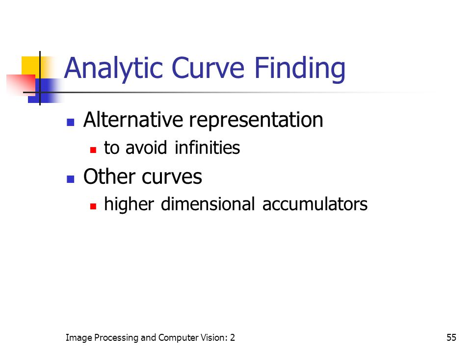 Analytic Curve Finding