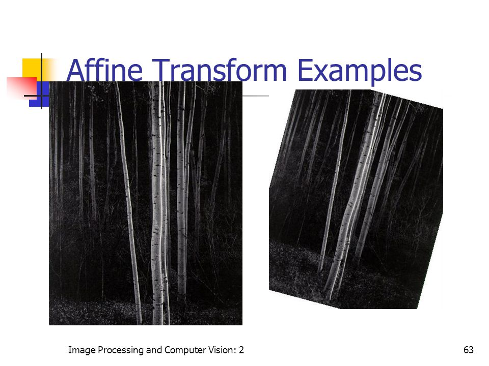 Affine Transform Examples