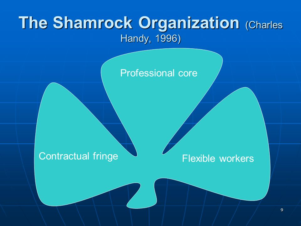The Shamrock Organization (Charles Handy, 1996)