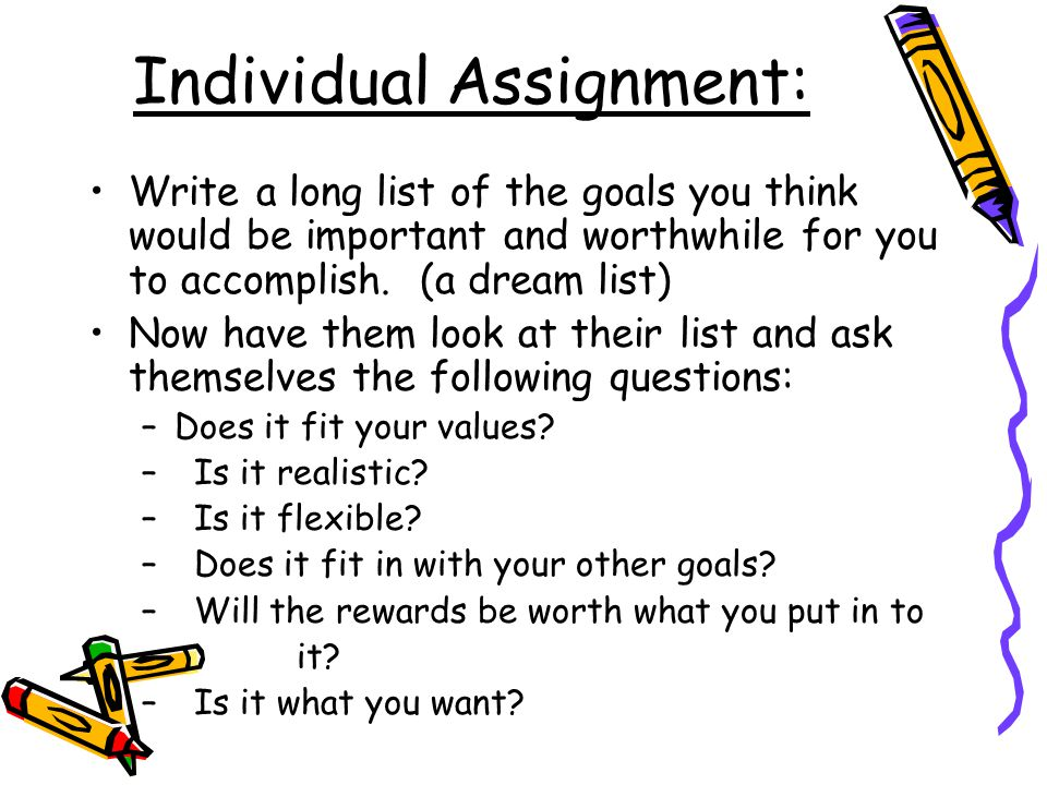 Individual Assignment: