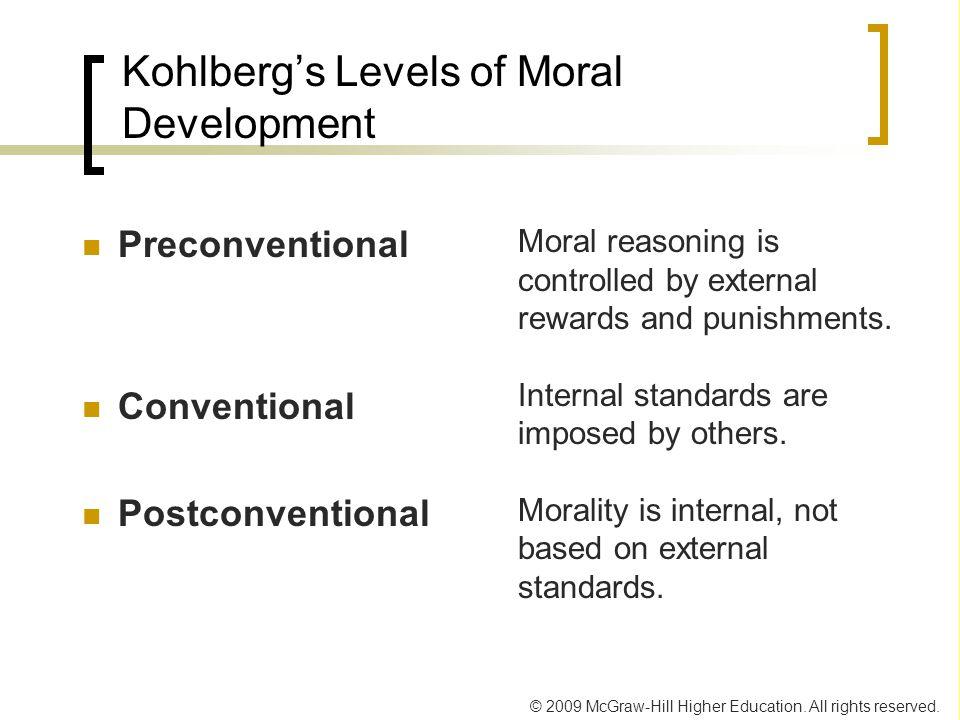 Kohlberg's Levels of Moral Development