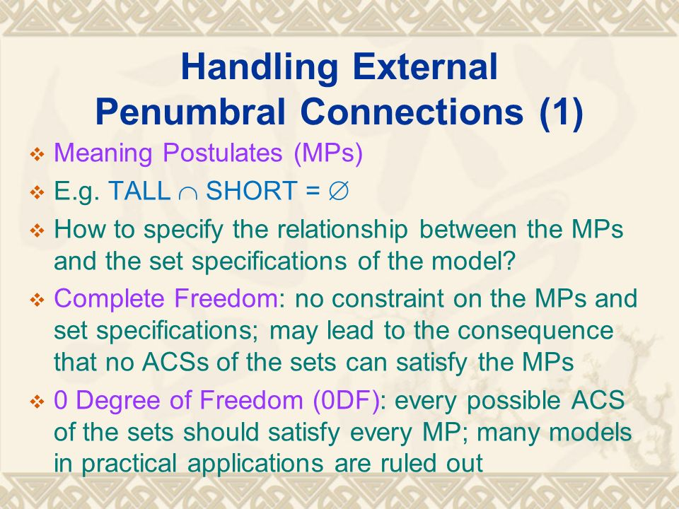 Handling External Penumbral Connections (1)