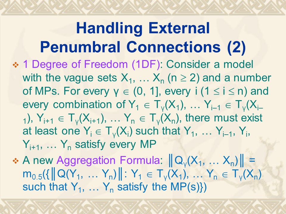 Handling External Penumbral Connections (2)