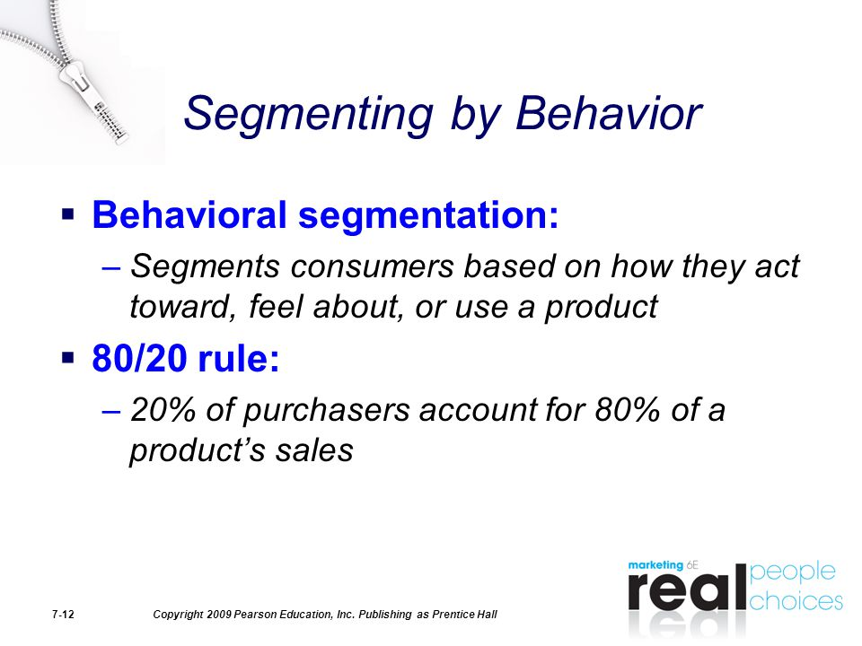 Segmenting by Behavior