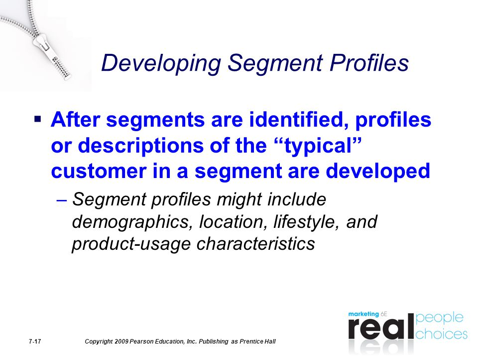Developing Segment Profiles