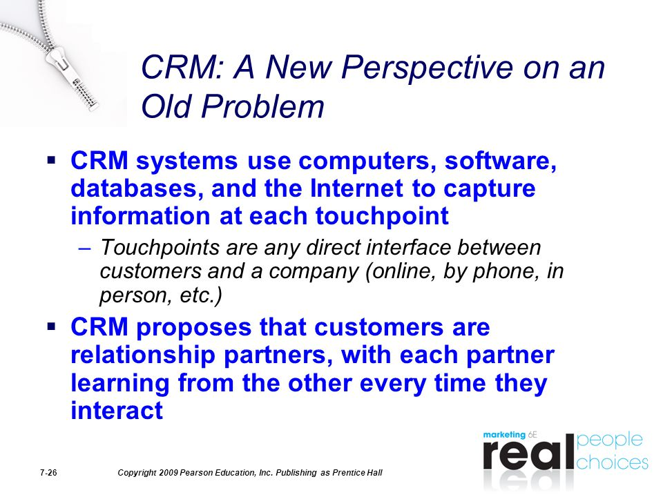 CRM: A New Perspective on an Old Problem