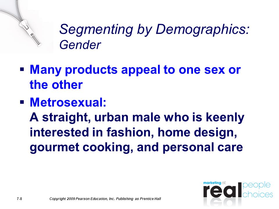 Segmenting by Demographics: Gender