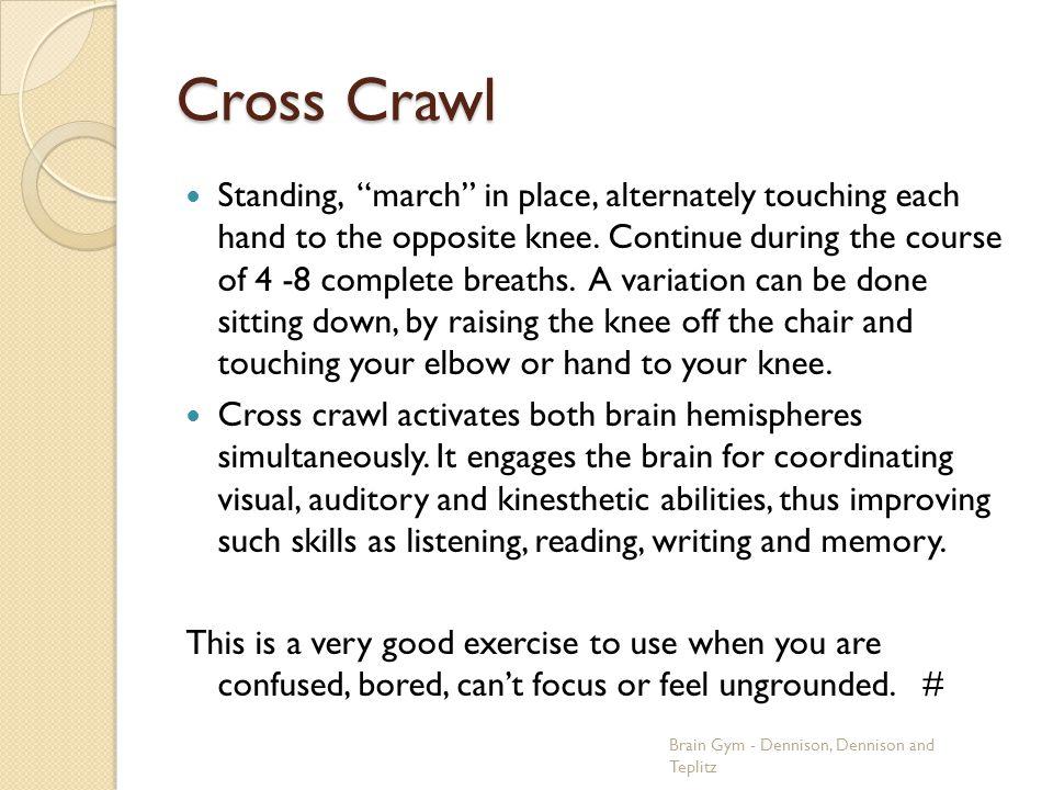 Cross Crawl