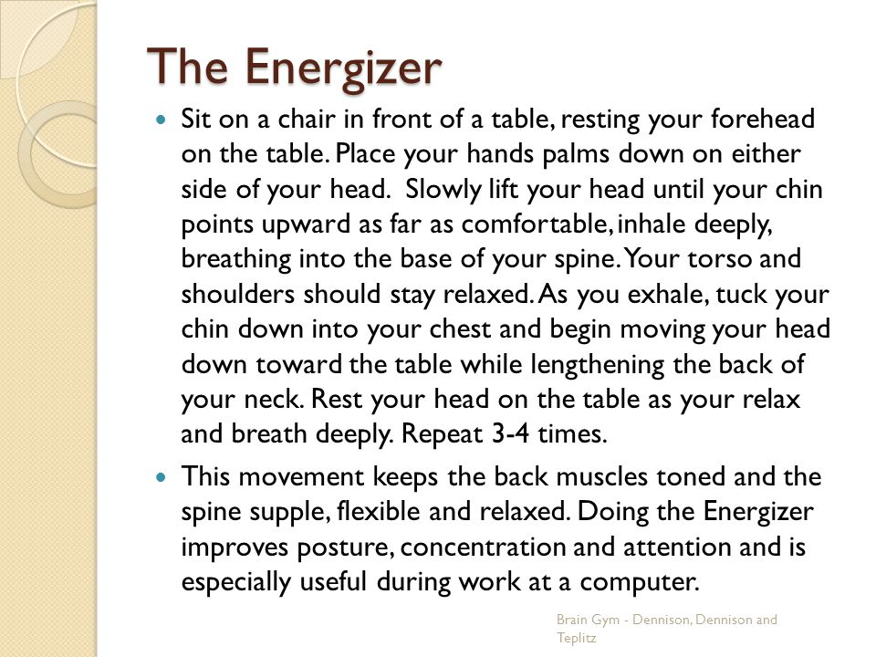The Energizer