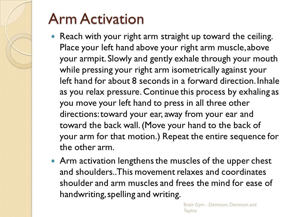 Arm Activation