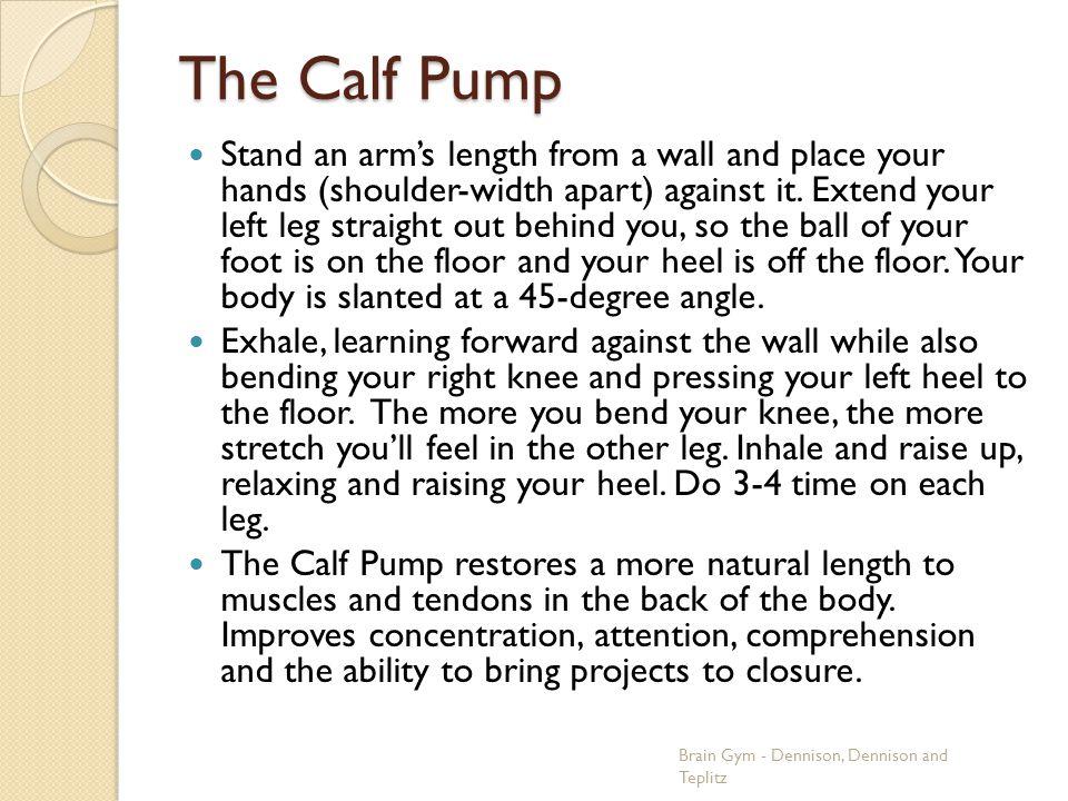 The Calf Pump