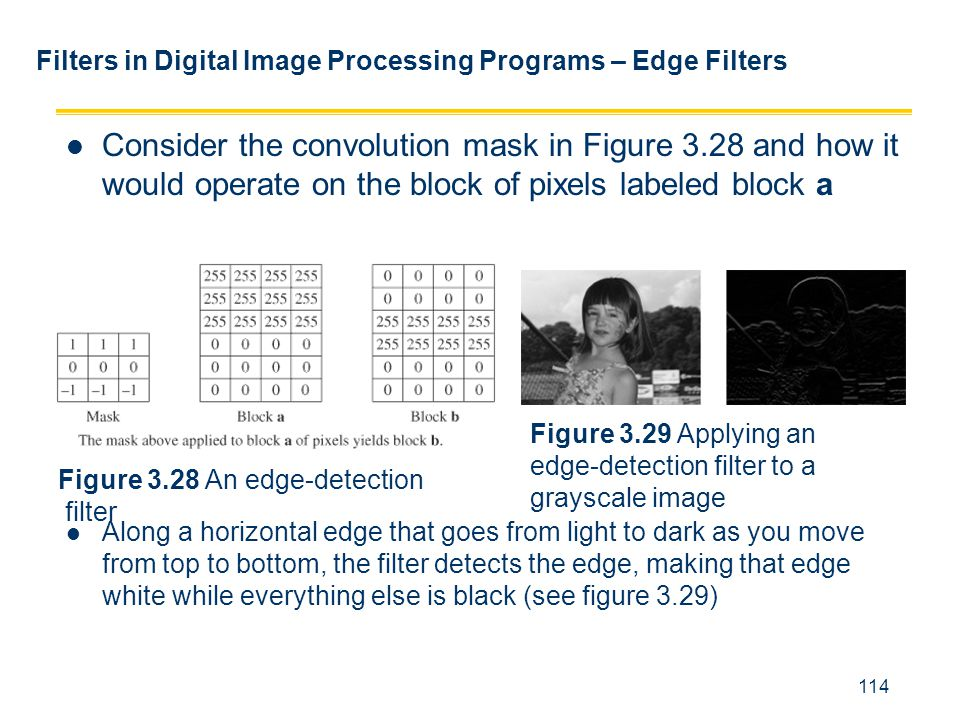 Filters in Digital Image Processing Programs – Edge Filters