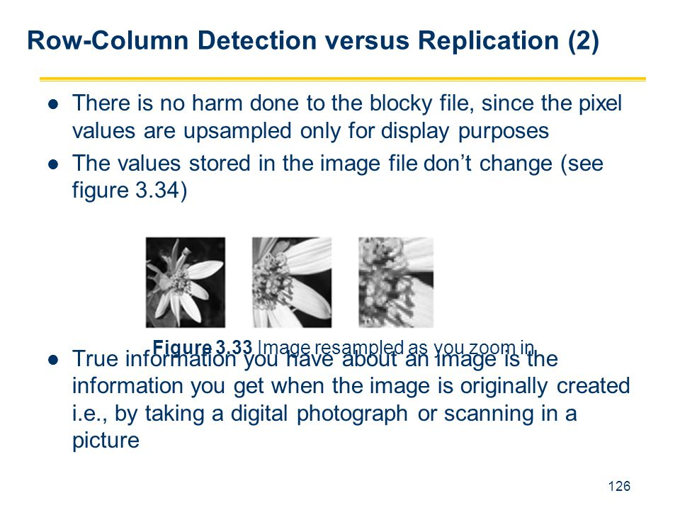 Row-Column Detection versus Replication (2)