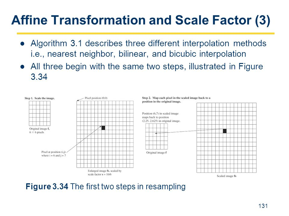 Affine Transformation and Scale Factor (3)