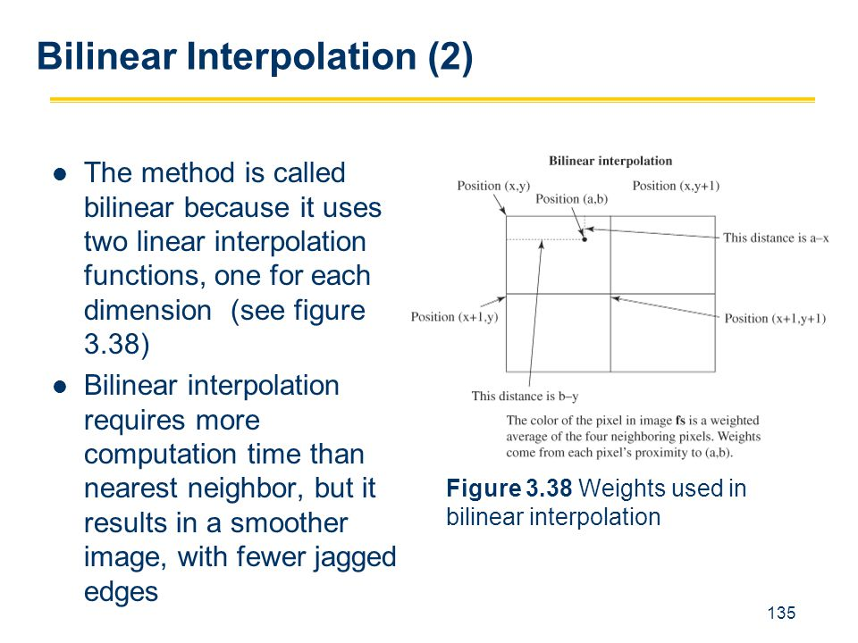 Bilinear Interpolation (2)