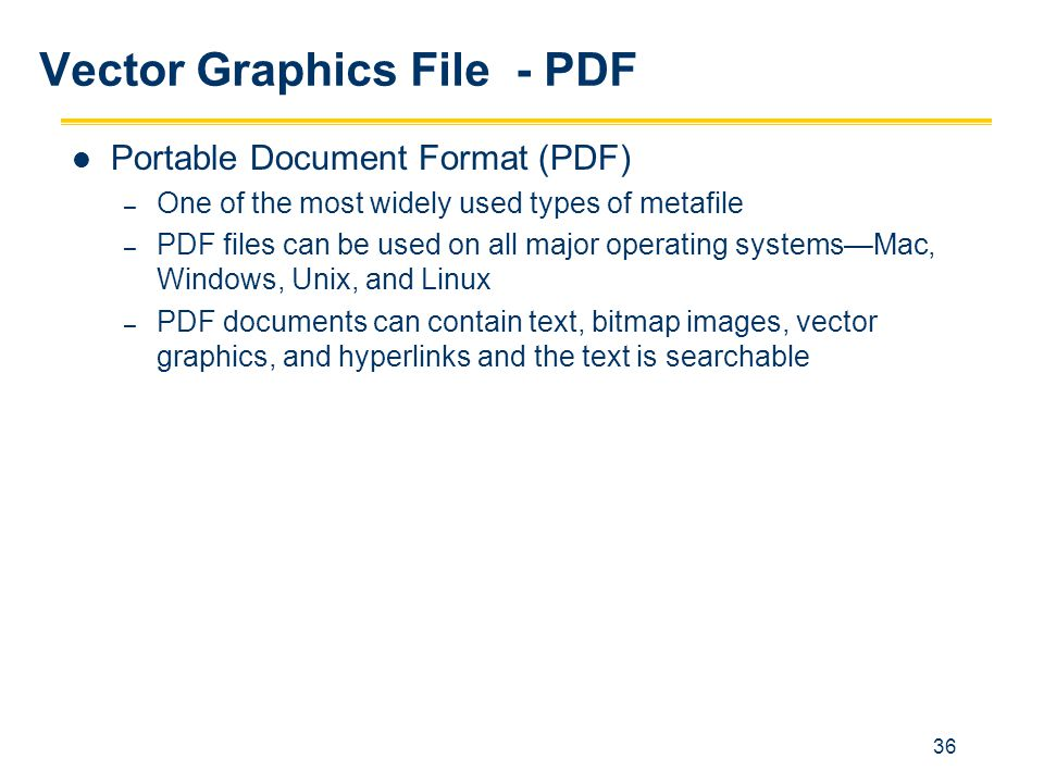 Vector Graphics File - PDF