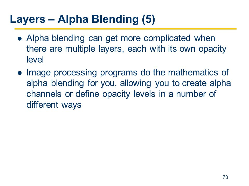 Layers – Alpha Blending (5)