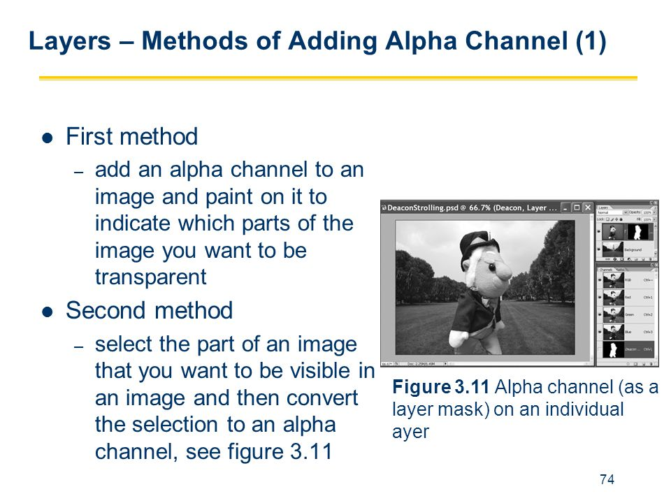 Layers – Methods of Adding Alpha Channel (1)