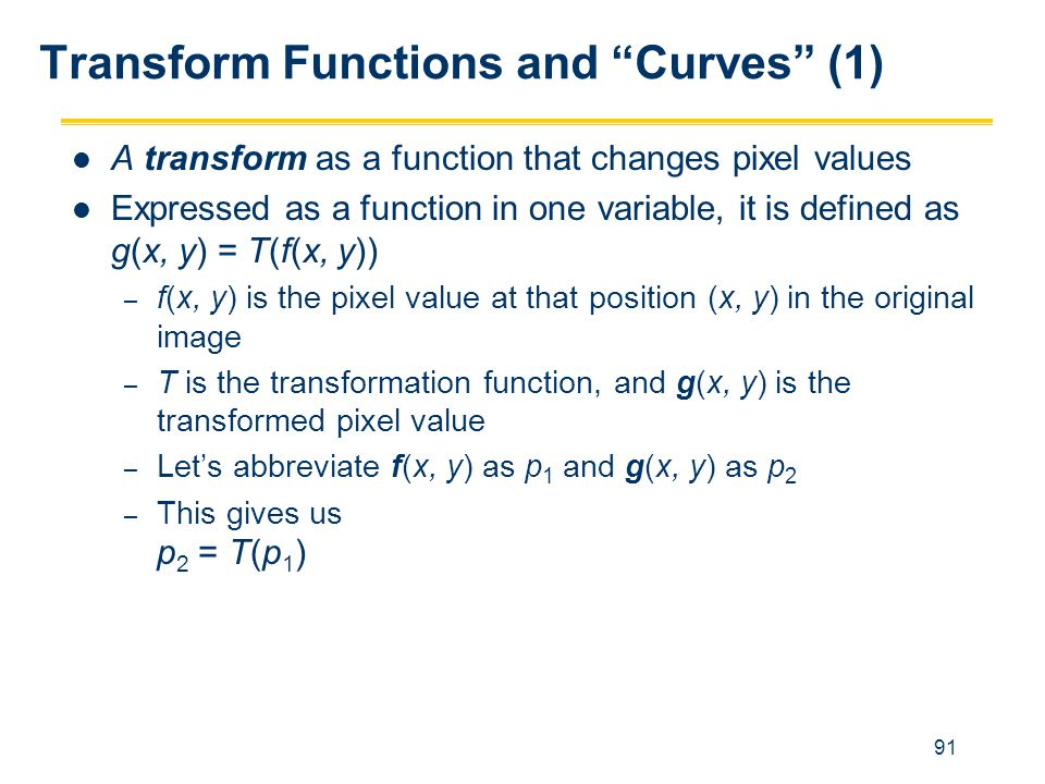 Transform Functions and Curves (1)