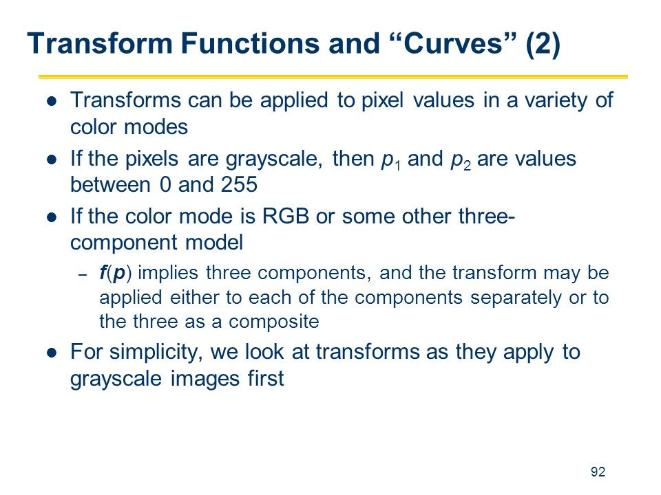 Transform Functions and Curves (2)
