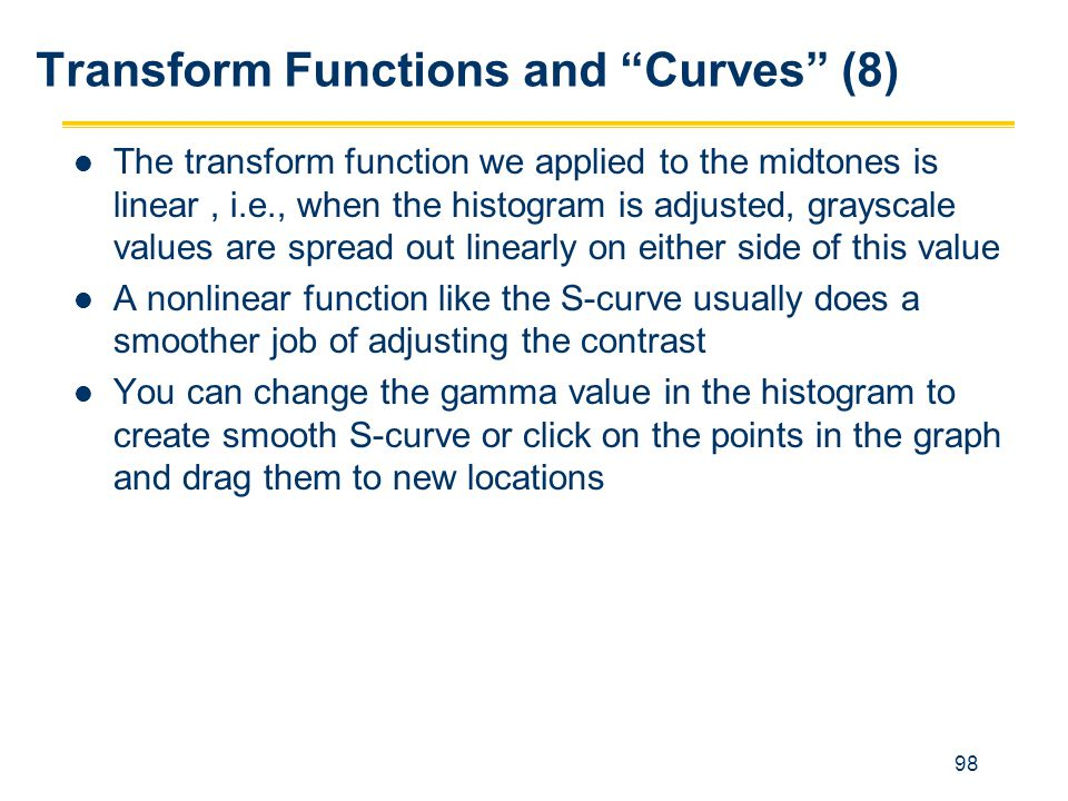 Transform Functions and Curves (8)