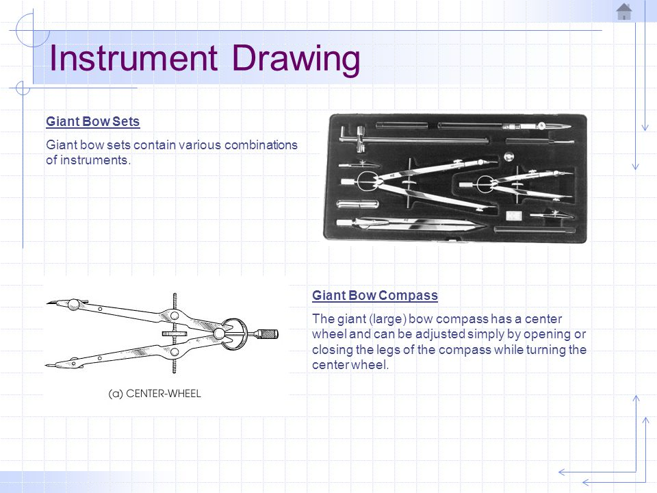 Instrument Drawing Giant Bow Sets