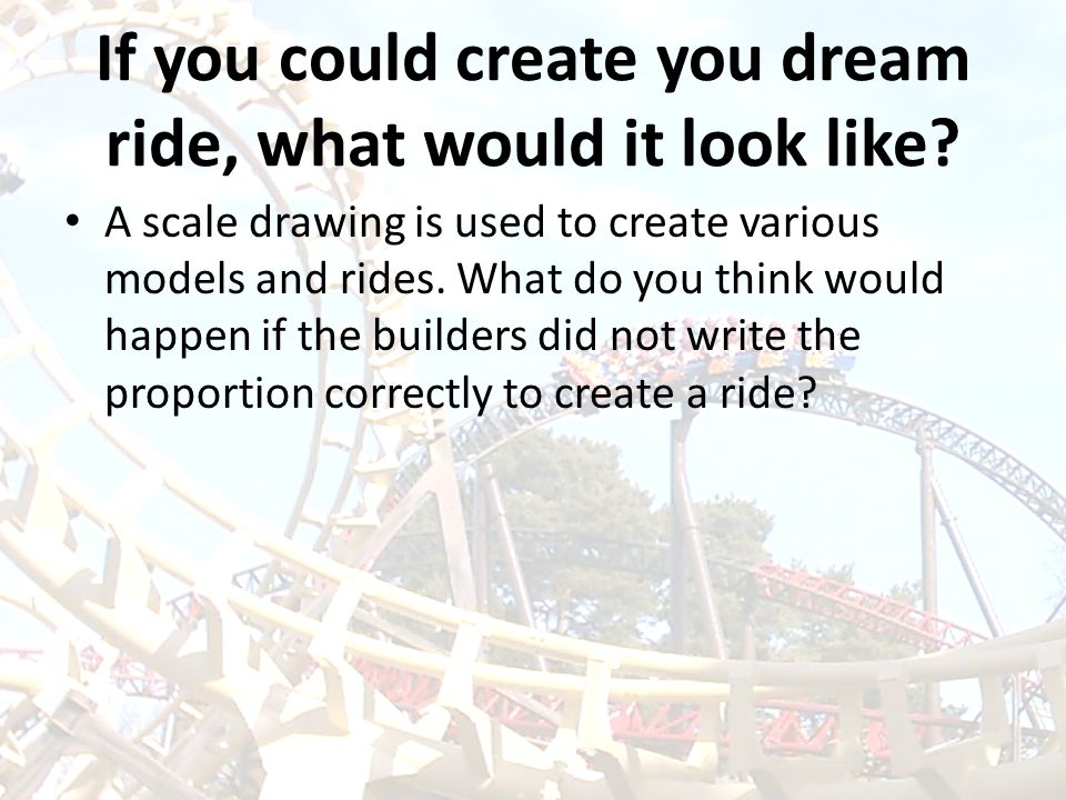 If you could create you dream ride, what would it look like