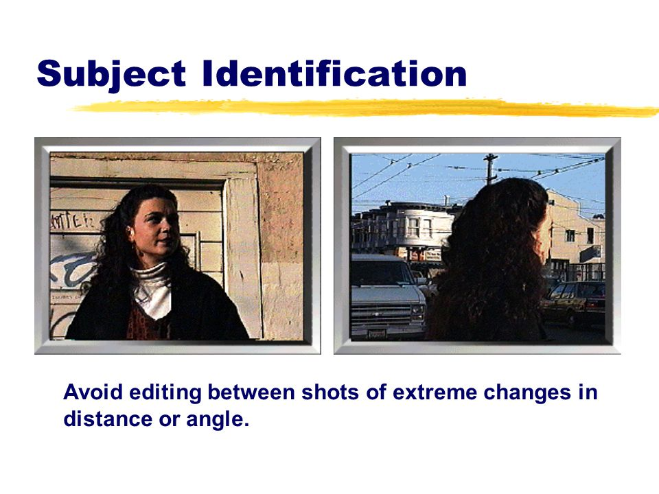Subject Identification