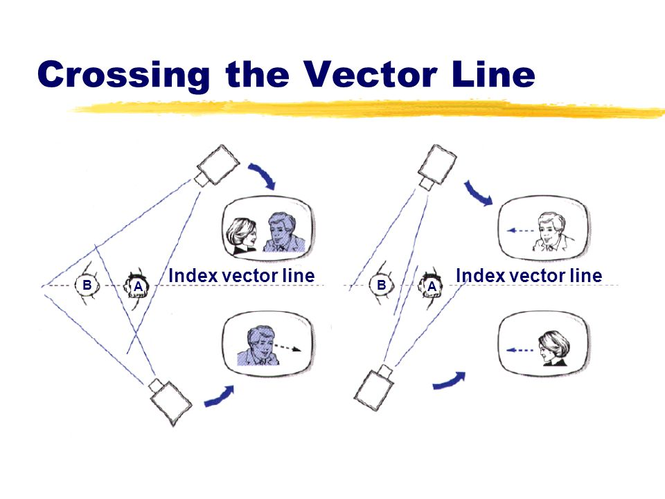 Crossing the Vector Line