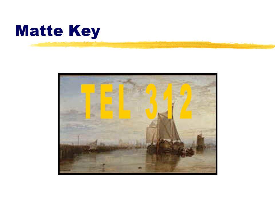 Matte Key TEL 312