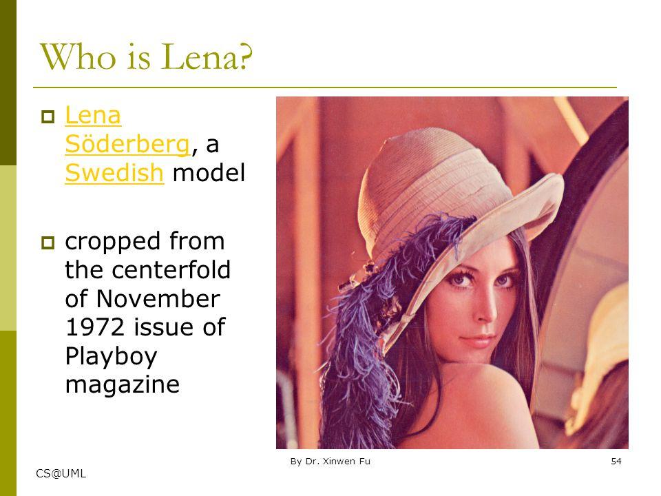 Who is Lena Lena Söderberg, a Swedish model
