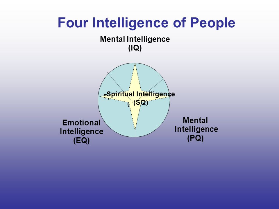 Four Intelligence of People