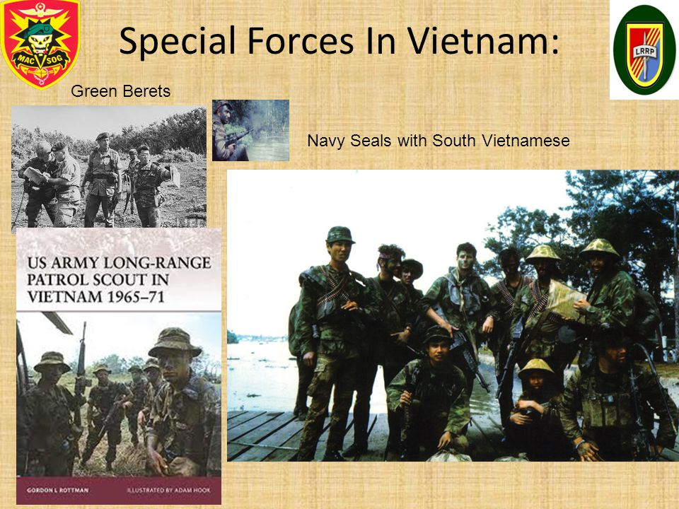 Special Forces In Vietnam:
