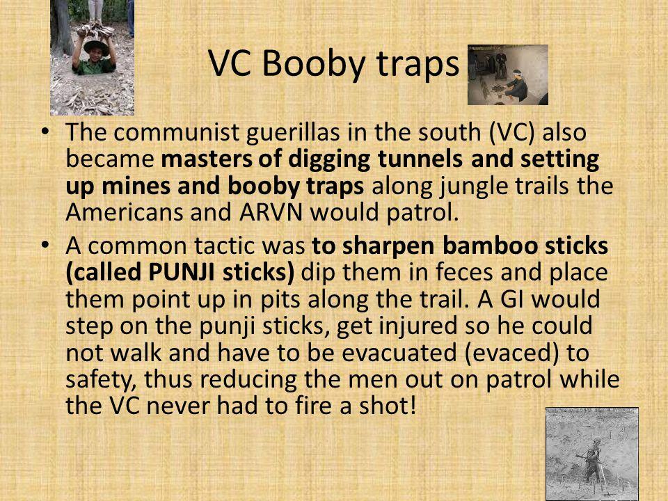 VC Booby traps