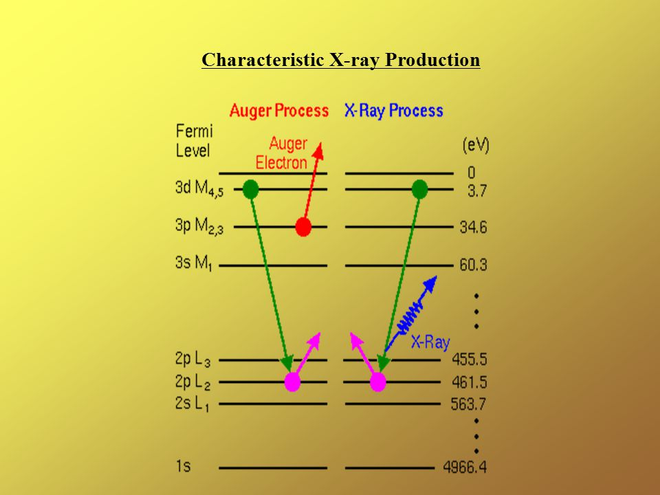 Characteristic X-ray Production