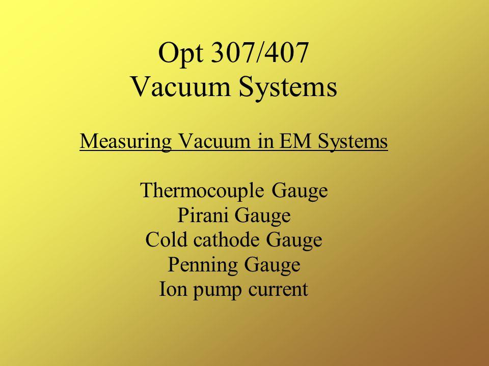 Measuring Vacuum in EM Systems