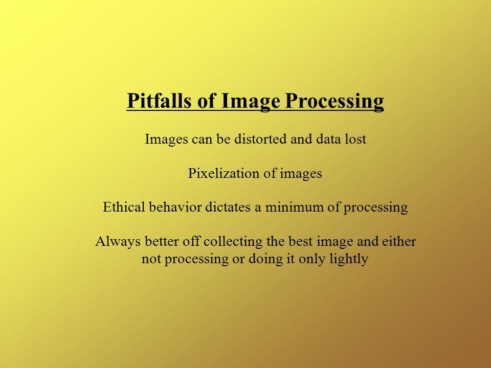 Pitfalls of Image Processing
