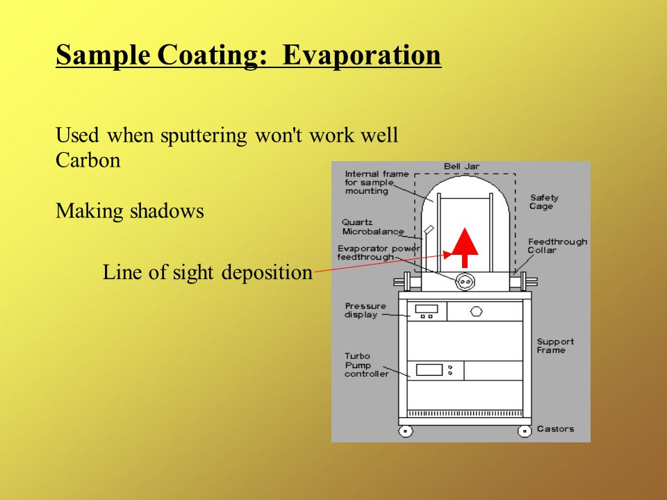 Sample Coating: Evaporation