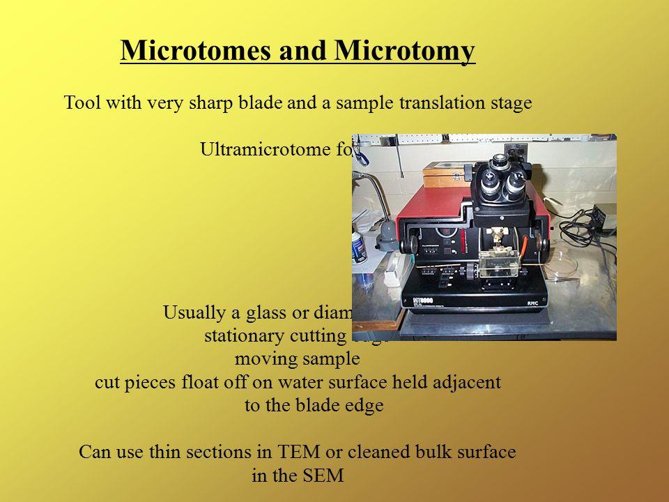 Microtomes and Microtomy