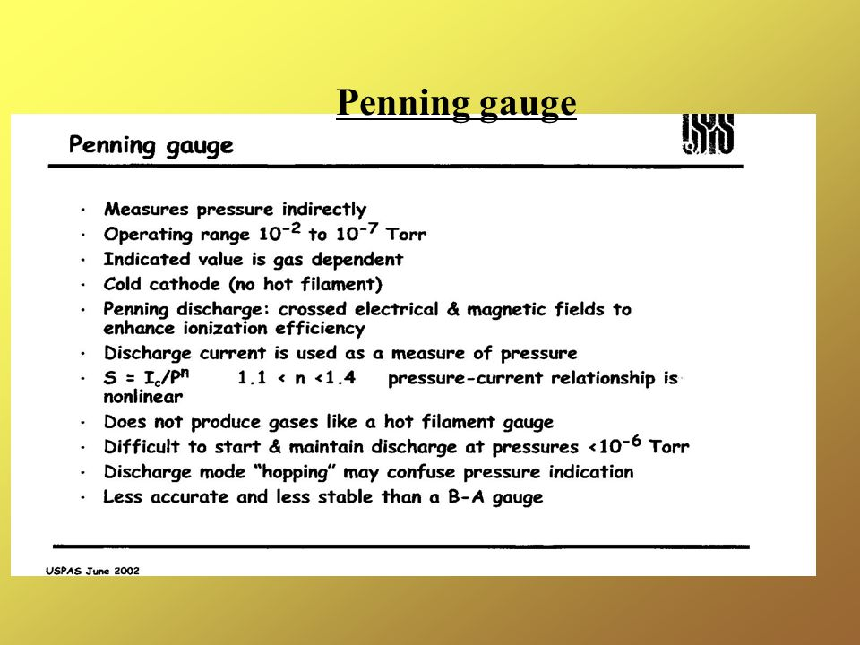 Penning gauge
