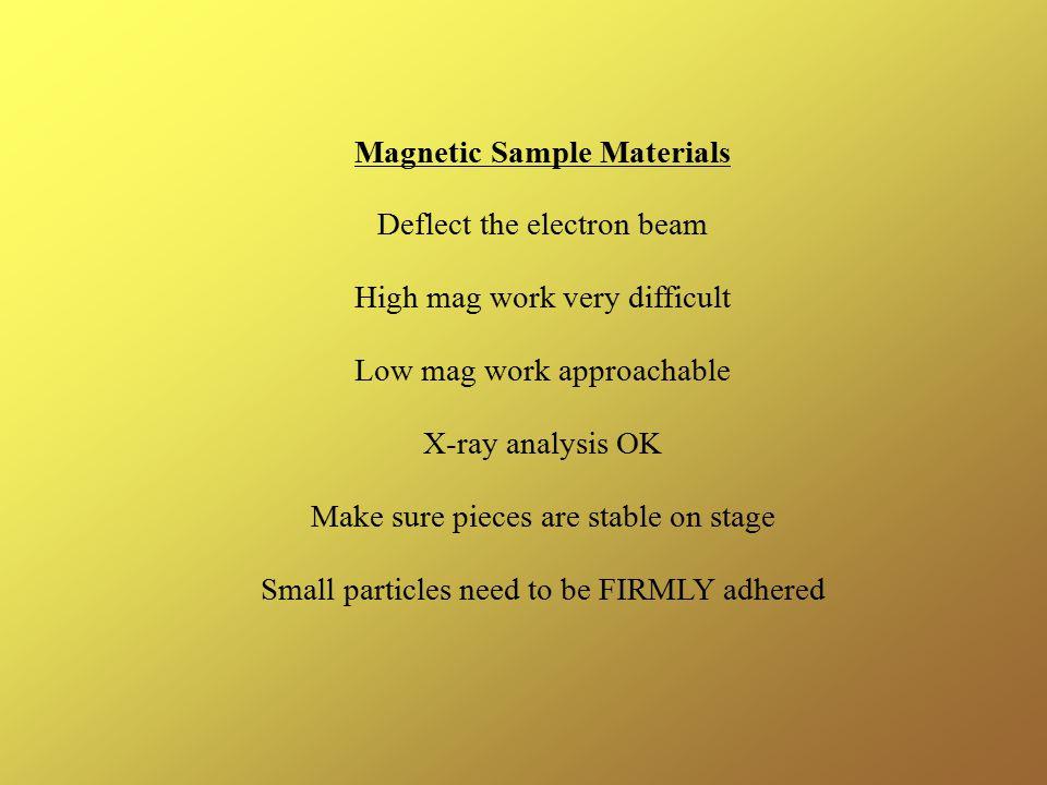 Magnetic Sample Materials